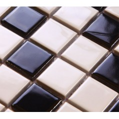 Glazed Porcelain Square Mosaic Tiles Wall Designs Ceramic Tile Swimming Pool Kitchen Backsplash TC009