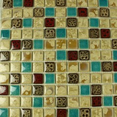 Wholesales Porcelain Square Mosaic Tiles Design porcelain tile flooring Kitchen Backsplash TC24009