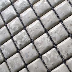Porcelain Square Mosaic Tiles Design Snowflake Style Kitchen Backsplash Wall Stickers Tiles ADT96