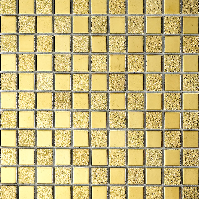 Wholesale porcelain bathroom wall interior decorative gold Mosaic kitchen wall tiles ideas