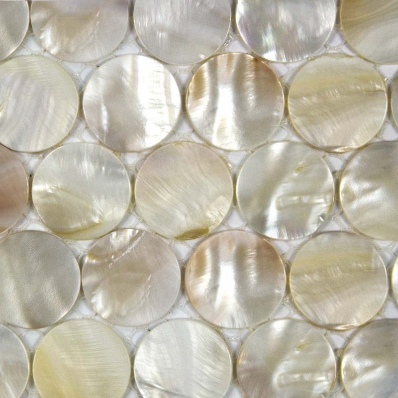 Fresh Kitchen Backsplash Tile fresh kitchen tiling ideas with regard to kitchen Shell Tiles Kitchen Backsplash Tile Penny Round Mother Of Pearl Mosaic Fresh Water Seashell Decor Sn25001