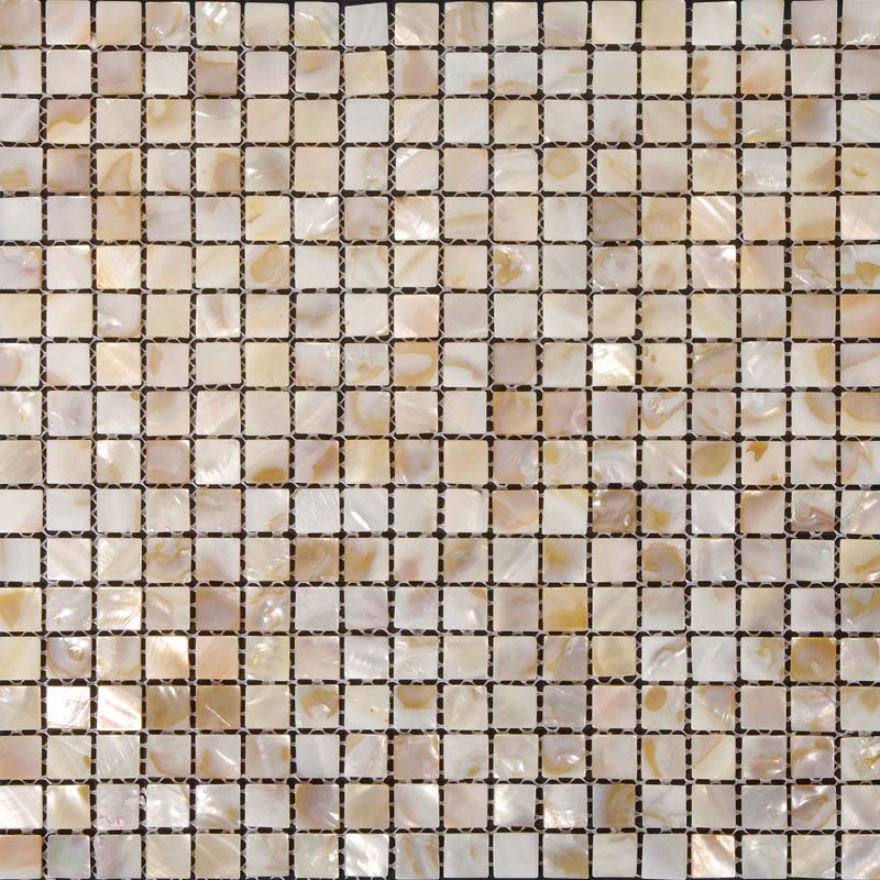 Mother of Pearl Tile Shower Floor Sticker Square Seashell Mosaic Shell Wall Kitchen Backsplash and