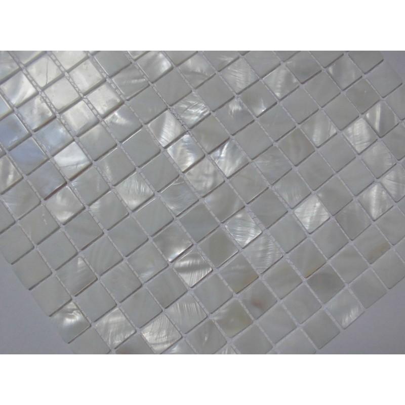 mother of pearl tile shower liner wall backsplash white square bathroom shell mosaic tiles mh 004 - White Square Bathroom Tile