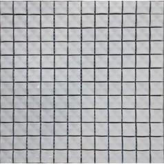 """Porcelain Mosaic Glossy Tile 3D Pinwheel Patterns 7/8"""" White Brick Wall Tiles Backsplash"""