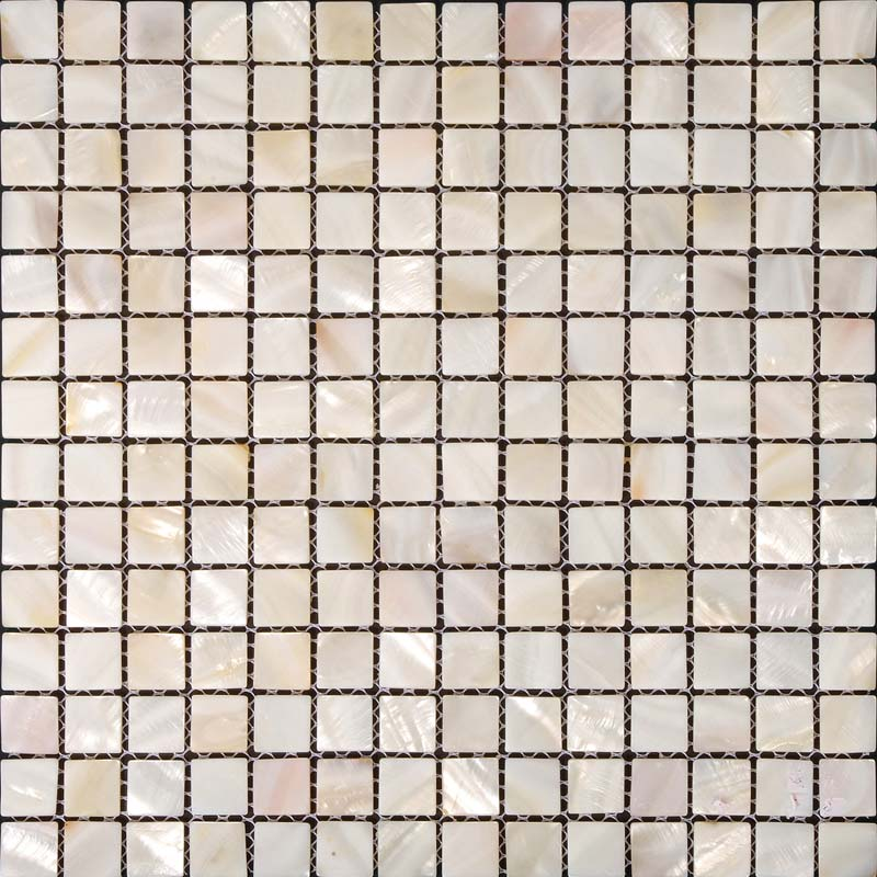 Kitchen Tiles Square: Mother Of Pearl Tile Kitchen Backsplash Ideas