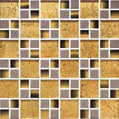 yellow crystal glass tile wall backsplashes tile kitchen backsplash cheap silver plated glass mosaic tile KLG4032
