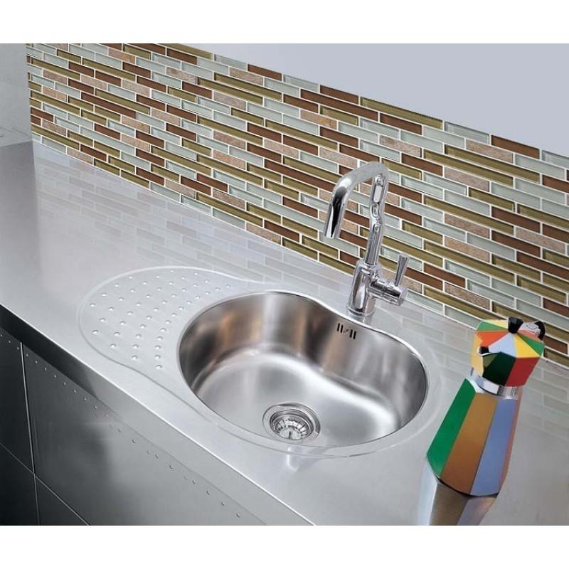 ... Natural Stone With Crystal Mosaic Tile Sheet Backsplash Of Wall Stickers  Bedroom Kitchen Washroom