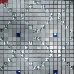 Grey Stone Blue Diamond Crystal Tile Backsplash Glass Mosaic Tile Murals Wall