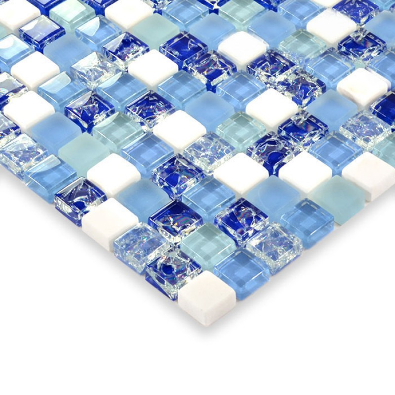 how to cut glass and stone mosaic tile