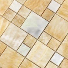 Natural Stone Mosaic Tile Sheet Marble Kitchen Backsplash Wall of Stickers Bedroom T042