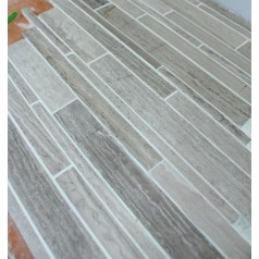 Stone Glass Mosaic Tile Wood Pattern Wall Tiles Marble Tile Backsplash Mosaic Tile SGS94-C1