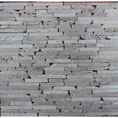 Stone Glass Mosaic Tile Natural Wood Pattern Wall Marble Tiles Backsplash Mosaic Tile SGS05-1