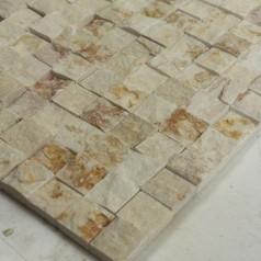 Stone Glass Mosaic Tile Natural Wood Pattern Wall Marble Tiles Backsplash Mosaic Tile SGS07-12-1515