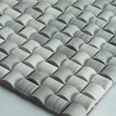 Stone Mosaic Tile Arched Grey Seamless Patterns Kitchen Wall Marble Backsplash Floor Tiles SGS22-94