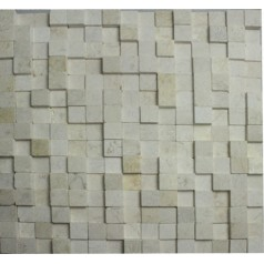Stone Glass Mosaic Tile Natural Wood Pattern Wall Marble Tile Backsplash Mosaic Tile Sticker SGS45-1
