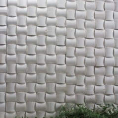 Stone Glass Mosaic Tile Grey Wood Pattern Wall Marble Tiles Backsplash Mosaic Tile SGS47