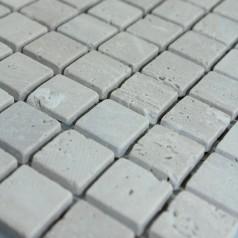 Stone Mosaic Tile Square Grey Patterns Washroom Wall Marble Kitchen Backsplash Floor Tiles SGS57-20B
