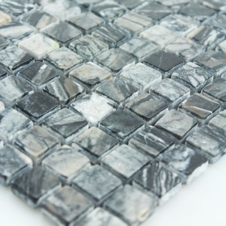 Stone Mosaic Tile Square Patterns Bathroom Wall Marble Kitchen Backsplash Floor Tiles SGSGMW-15B