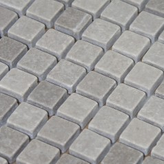 Stone Mosaic Tile Gray Patterns Bathroom Wall Marble Kitchen Backsplash Floor Tiles SGSHGN-15B
