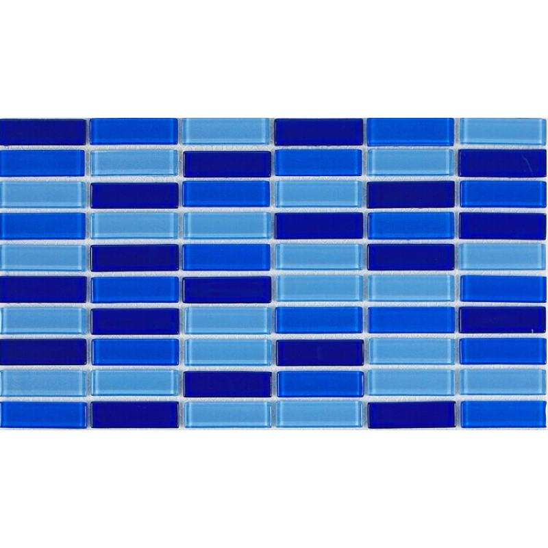 Crystal Glass Tile Brick Strip Kitchen Backsplash Tiles