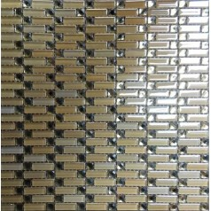 Diamond Crystal Glass Tile Mirrored Subway Tiles Decorative Yellow Tile Backsplash