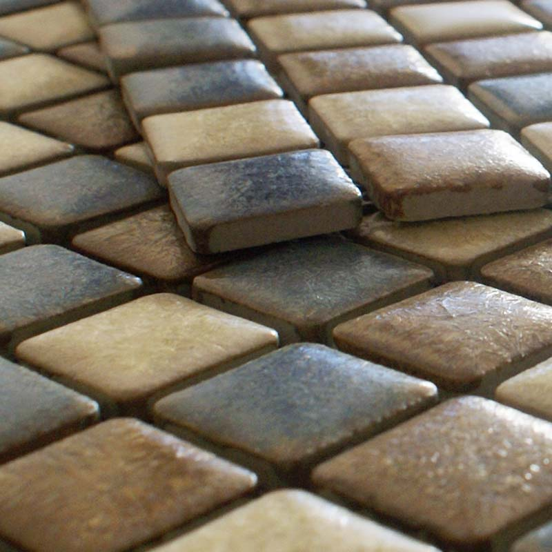 Porcelain Mosaic Floor Tiles Pattern Backsplash