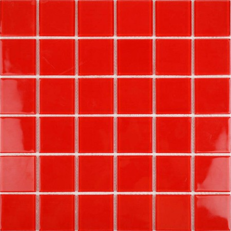 Vitreous Mosaic Tile Crystal Glass Backsplash of  Kitchen Design Bathroom Red Glass Floor Tiles