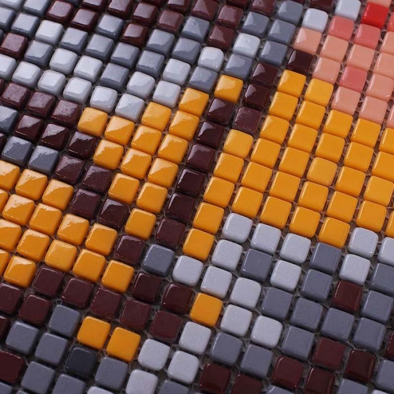 Wholesale Vitreous Mosaic Tile Pattern Glazed Crystal Glass ...