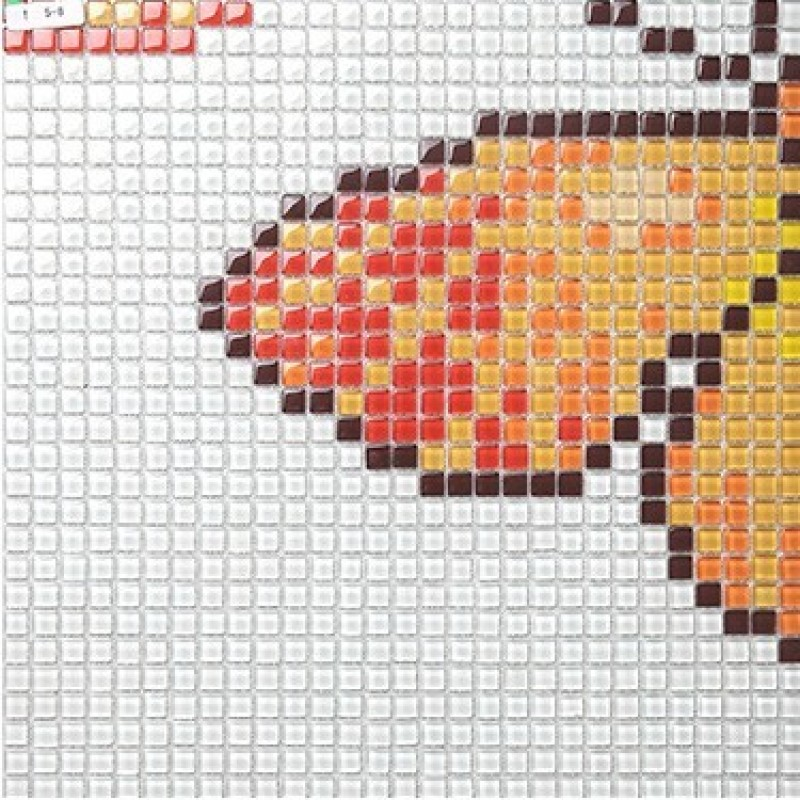 Wholesale Vitreous Mosaic Tile Pattern Glazed Crystal Glass