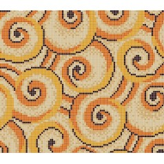 Vitreous Mosaic Tile Pattern Glazed Crystal Glass Backsplash Kitchen Design Art Bathroom Tiles s1636