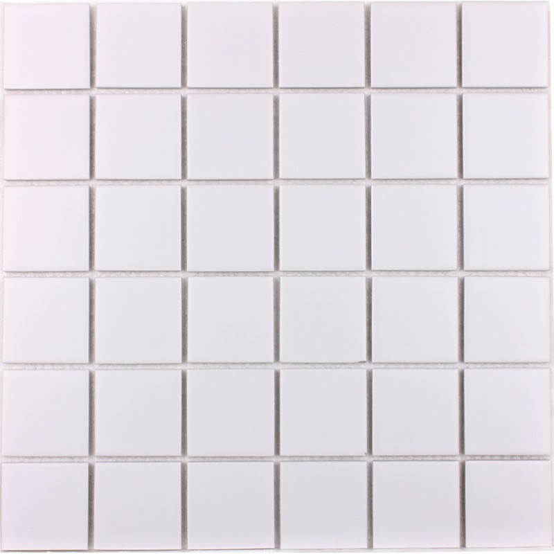 Wholesale Porcelain Floor Tile Mosaic White Square Brick Tiles ...