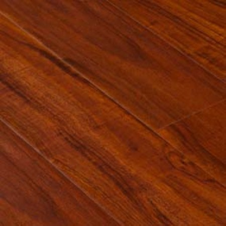 High End Wood Flooring Distressed Red Walnut Laminate Tile Ac7 Rated Hdf Core