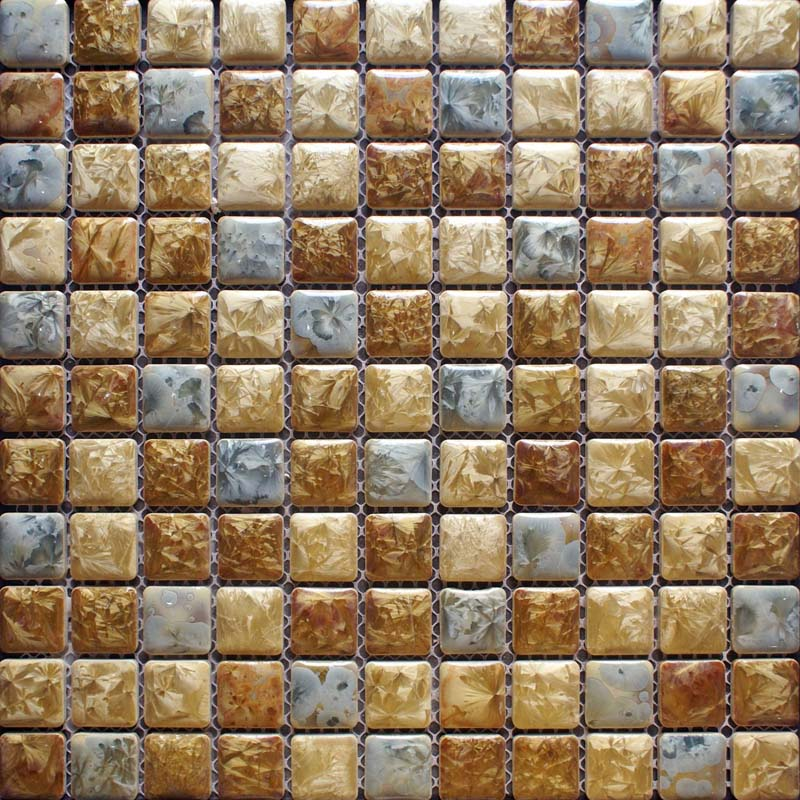 ... Porcelain Bathroom Wall Tile Design Square Shower Tile Yellow Mosaic  Tile Kitchen Backsplash Border ...