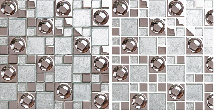 porcelain mosaic tile kitchen backsplash