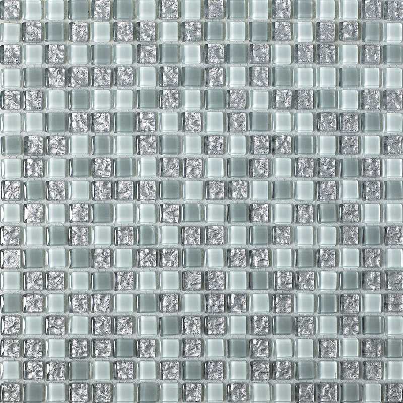 Glass Mosaic Tiles Melted Plated Crystal Backsplash Tile Bathroom Wall Tiles Stickers Kitchen B115