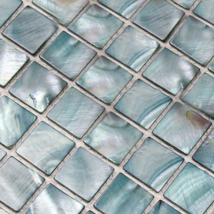 mother of pearl shell mosaic tile details - Shell Tiles 100% Grey Seashell Mosaic Mother Of Pearl Tiles