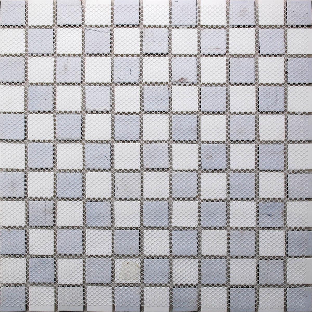 Glass Mosaic Tiles melted Crack Crystal Backsplash Tile Bathroom ...