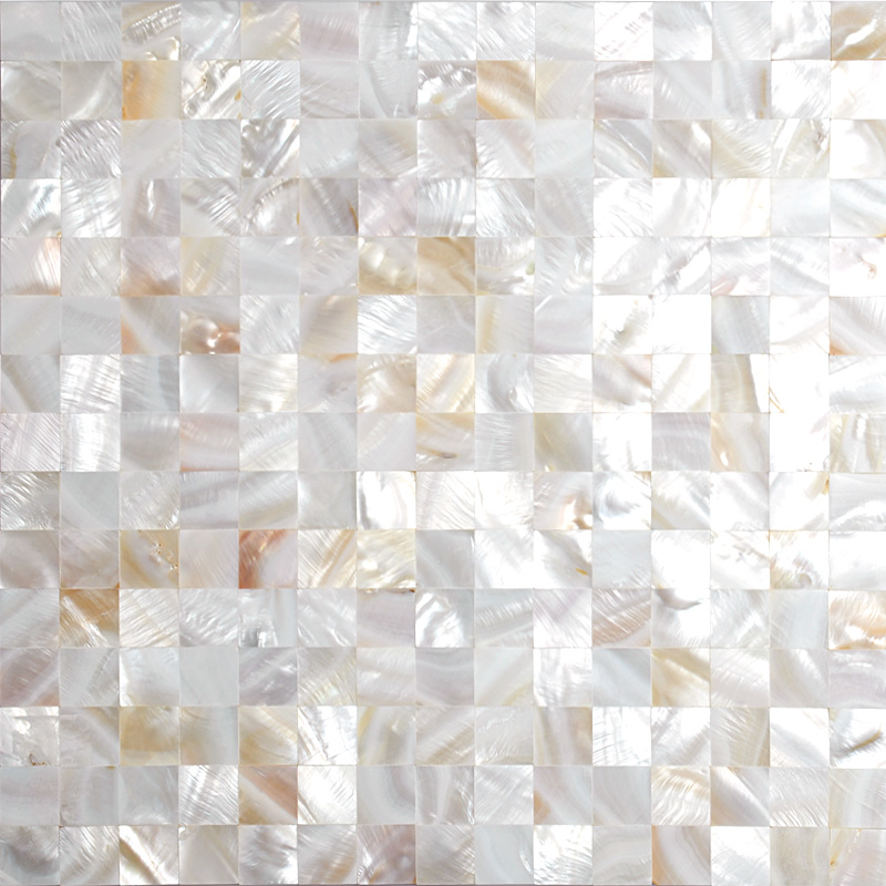 Seamless Shell Tiles Natural Mother Of Pearl Tile White