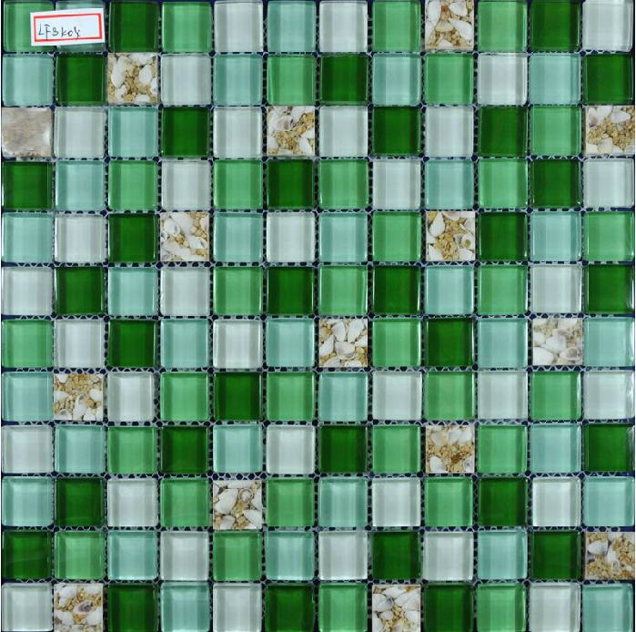 glass mosaic tile crack