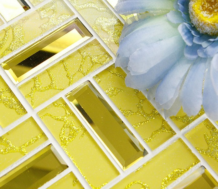 Crystal Gl Tile Backsplash