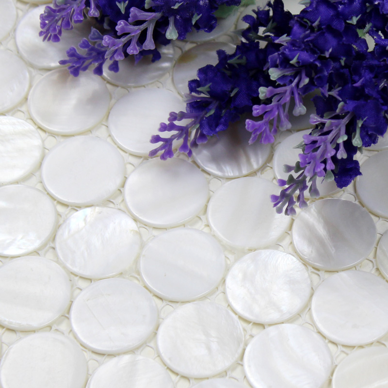 mother of pearl wall tile