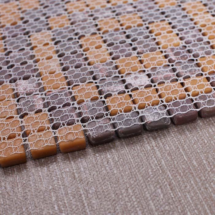 Mesh tile tile design ideas for Installing glass tile with mesh back