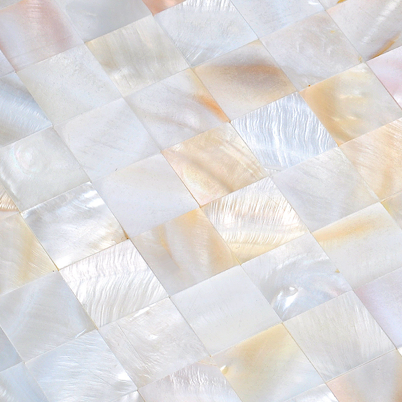 Excellent shell tiles 100% natural seashell mosaic mother of pearl tiles  UK39