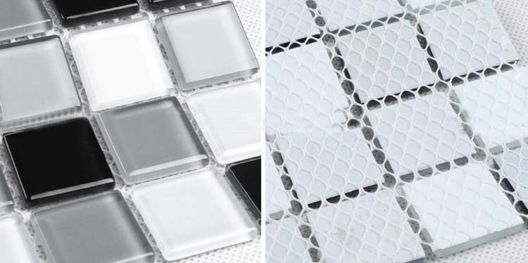 crystal glass mosaic tile for swimming pool -  as2015