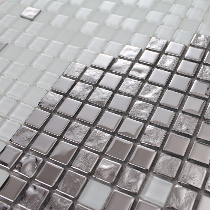 crystal glass puzzle mosaic tiles 2128b
