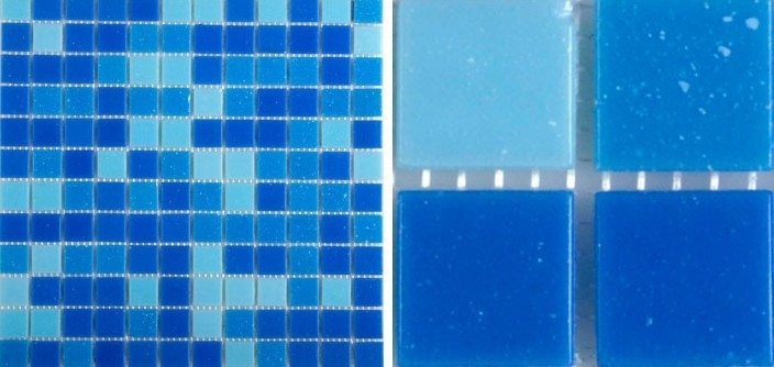 front of crystal glass tile blue swimming pool mosaic wall tiles -hc-468