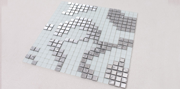 crystal glass tile frosted vitreous mosaic wall tiles - 2131