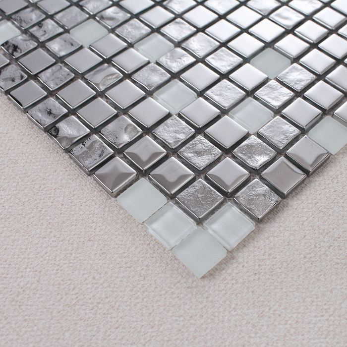 crystal glass tile mosaic details 2128b