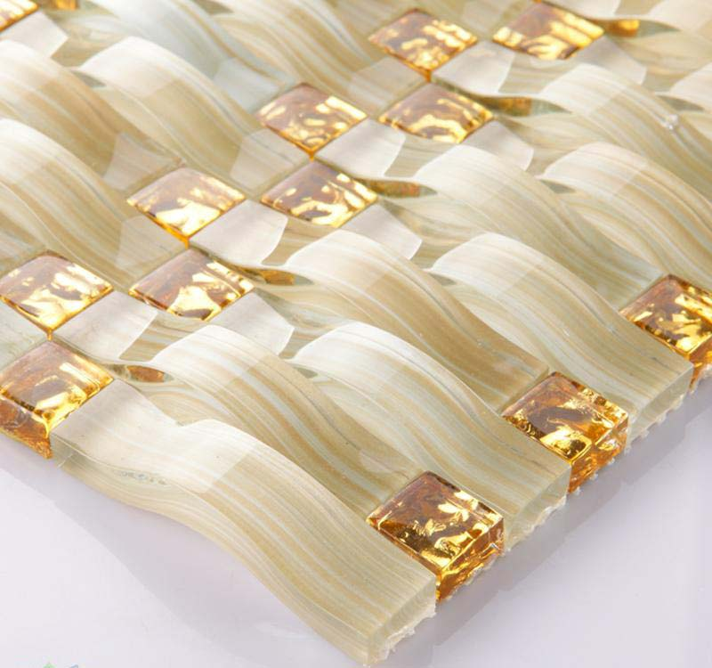Wholesale Mosaic Tile Crystal Glass Backsplash Washroom Arches ...