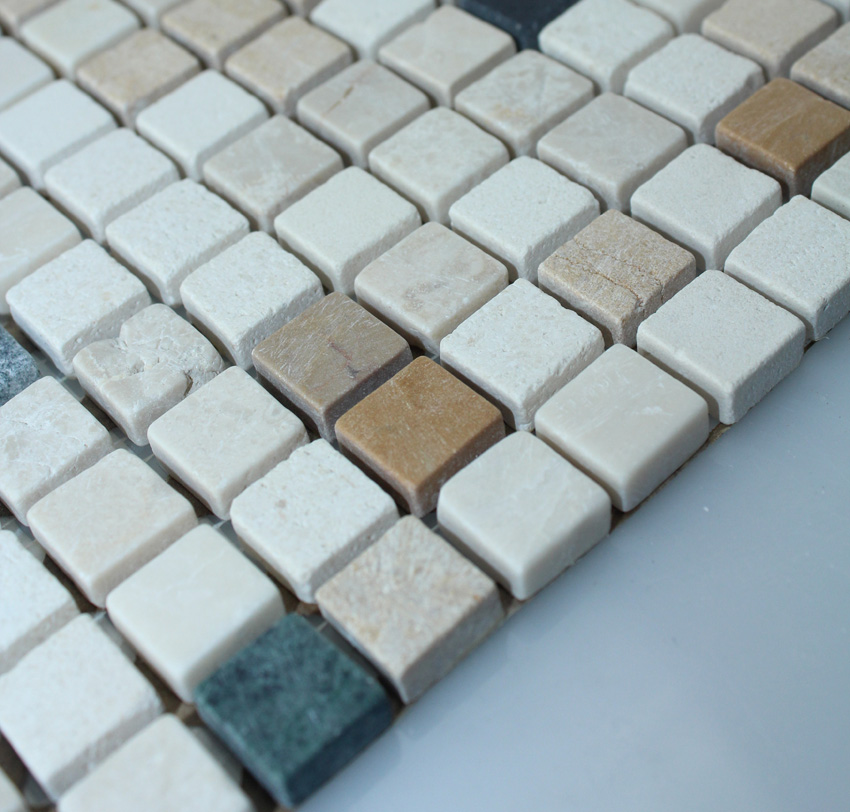 stone mosaic tile square patterns bathroom wall marble kitchen backsplash floor tiles sgsh41